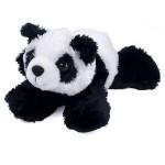 "Logo Printed 8"" Mei Mei Panda Mini Flopsie Stuffed Animal"