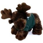 "8"" Maxamoose Moose Stuffed Animal w/T-Shirt & One Color Imprint Logo Printed"