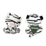 """Custom Personalized 6"""" Tasha WB White Tiger with bandana and one color imprint"""