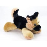 "Custom Imprinted 8"" German Shepherd Stuffed Dog"
