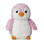 "Logo Printed 6"" Pink Pom Pom Mini Penguin Stuffed Animal"