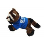 "8"" Ringo Raccoon w/T-Shirt & One Color Imprint Logo Printed"