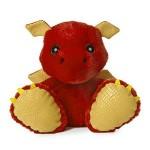 "10"" Sparks Dragon Stuffed Animal Custom Imprinted"