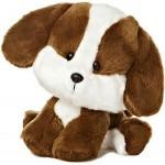 "6"" Brown Puppy Dog Custom Imprinted"