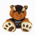 "10"" Nutsy Chipmunk Stuffed Animal w/T-Shirt & One Color Imprint Logo Printed"