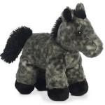 "Logo Printed 8"" Storm Horse Mini Flopsie Stuffed Animal"