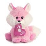 "8"" Pink Foxy Custom Personalized"