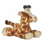"8"" Gigi Giraffe Mini Flopsie Stuffed Animal Custom Imprinted"