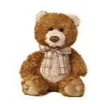 "Custom Personalized 8"" Brown Sugar Bear Stuffed Animal"