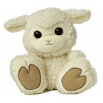 "10"" Baabsy Lamb Stuffed Animal Custom Imprinted"