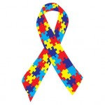 Autism Awareness Ribbon Custom Personalized
