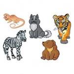 Baby Animals Temporary Tattoo Custom Personalized