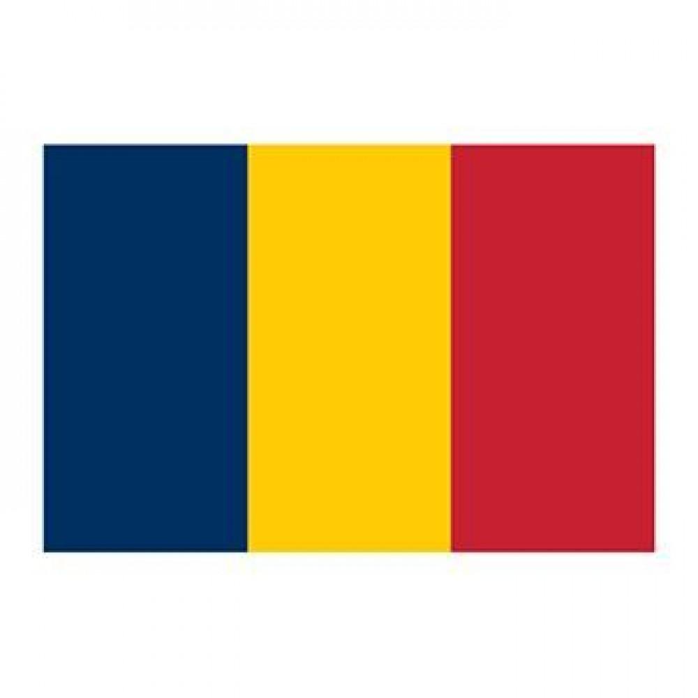 Chad Flag Temporary Tattoo Logo Printed