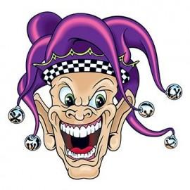 Custom Personalized Joker Temporary Tattoo