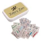 Custom Imprinted First Aid Necessities Kit - Tin