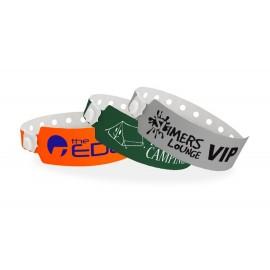 Custom Printed Wide Vinyl Custom Color Wristbands