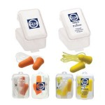 Logo Branded Corded Foam Earplugs & Case