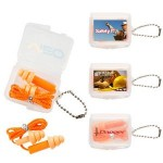 Personalized Silicone Ear plugs w/String