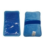 Custom Imprinted Rectangle Reusable Gel Hot and Cold Pack Heat or Ice Therapy