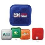 Custom Imprinted Plush Square Gel Bead Hot/Cold Pack (Full Color Digital)