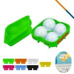 Custom Printed Fez Ice Ball Maker Green