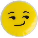Custom Imprinted Smirk Emoji Chill Patch