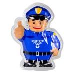 Custom Imprinted Police Officer Hot/Cold Pack