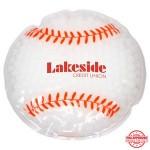 Custom Imprinted Baseball Hot/Cold Pack