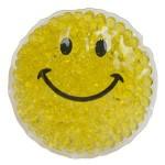 Logo Branded Smiley Gel Beads Hot/Cold Pack