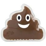 Custom Imprinted Poo Emoji Gel Beads Hot/Cold Pack