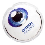 Logo Branded Eyeball Hot/Cold Pack