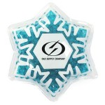 Personalized Snowflake Hot/ Cold Pack with Gel Beads