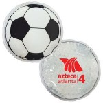 Custom Imprinted Soccer Ball Hot/ Cold Pack with Gel Beads