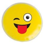 Custom Printed Wink Wink Emoji Chill Patch