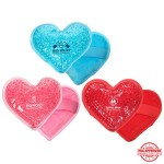 Promotional Plush Heart Hot/Cold Pack