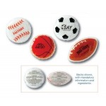Custom Printed Sports Hot/Cold Therapy Gel Pack-Basketball