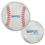 Promotional White Baseball Hot/ Cold Pack with Gel Beads