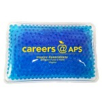 Personalized Rectangular Blue Hot/ Cold Pack with Gel Beads
