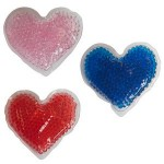 Personalized Heart Gel Beads Hot/Cold Pack