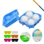 Custom Printed Fez Ice Ball Maker Blue