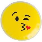 Custom Printed Kiss Kiss Emoji Chill Patch