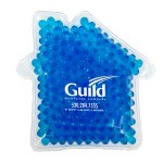 Logo Branded House Hot/ Cold Pack with Gel Beads