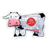 Logo Branded Cow Hot/ Cold Pack with Gel Beads