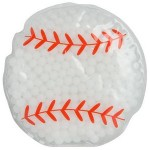 Promotional Baseball Gel Beads Hot/Cold Pack