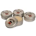 .5 Oz. Round Lip Balm Tin - Petroleum-Free Logo Branded