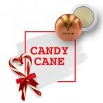 Metallic Lip Balm Candy Cane Logo Branded