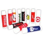 SPF 15 Lip Balm w/Next Day Delivery Service - Cherry Flavor Custom Imprinted
