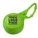 23 Oz Soft Touch Round Lip Balm with Leash Custom Printed
