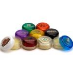 Round Lip Balm Jar Custom Printed