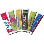 Caramel Apple Premium Lip Balm in Clear Tube Logo Branded